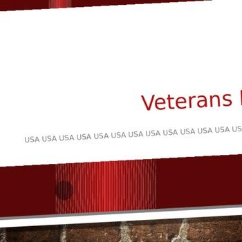 Editable Veteran's Day Powerpoint