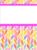 Editable Watercolor Binder Covers
