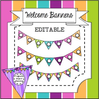 Editable Welcome Banner