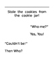 """Editable """"Who Stole the Cookies"""" Class Book"""