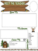 Editable Woodland/Camping Meet the Teacher Letter