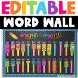 Editable Word Wall