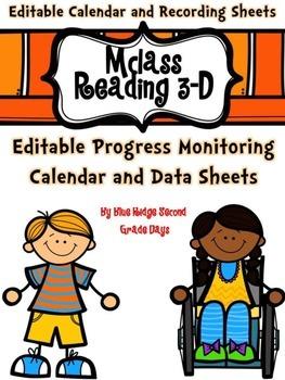 Editable mClass Reading &Star Reading Progress Monitoring