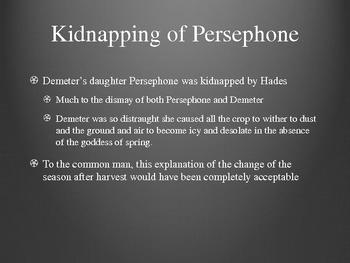 Edith Hamilton's Mythology Part I Chapter 2 PowerPoint