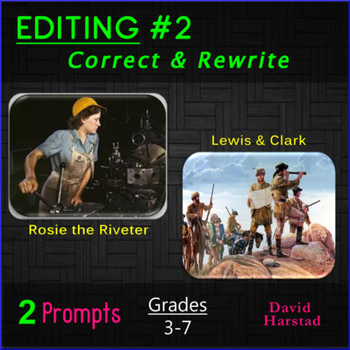 Editing #2: Rosie the Riveter and Lewis & Clark Printable