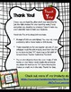 Editing Checklist for Students- Grades 3-5