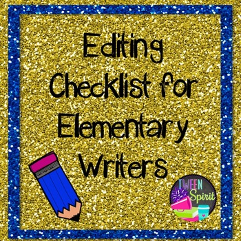 Editing Checklist for Young Writers