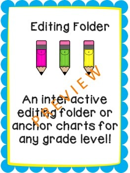 Editing and Revising Folder For Each Student!