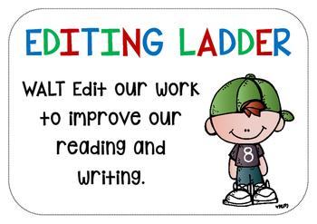 EDITING SKILLS - Editing Ladder