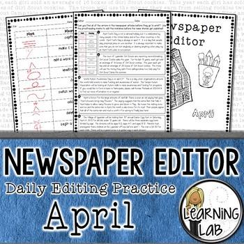 Editing Practice - April Edition