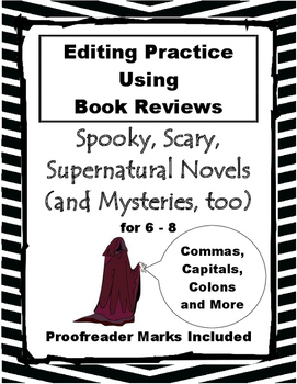 Editing Practice Using Reviews of Mystery Books 6-8 Hallow