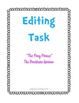 Editing Task FSA practice NO PREP