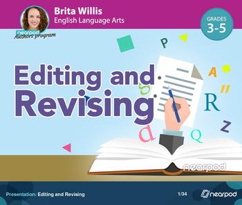 Editing and Revising