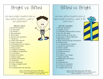 Educating the Educator on Gifted Students