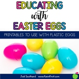Educating with Easter Eggs {Printables to Use with Plastic