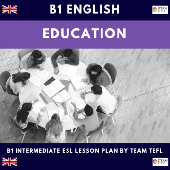 Education B1 Intermediate Lesson Plan For ESL