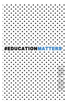 Education Matters {Poster, Printable}
