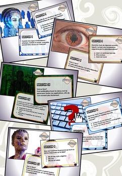 Éducation aux médias : 5 séries de cartes à tâches (lot co