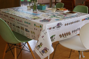 Educational Tablecloth for Math - Ages 2 to 6