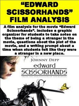 """""""Edward Scissorhands"""" Movie Guide"""