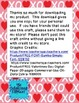 Valentine's Day Craft FREE {Mouse's First Valentine Book C