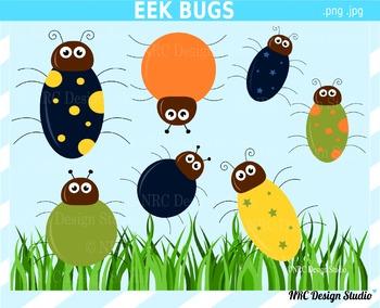 Eek Bugs Clip Art