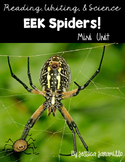 Eek Spiders! A Literacy math and science unit