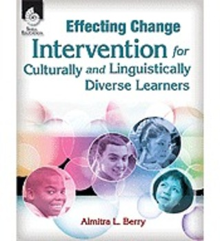 Effecting Change: Intervention for Culturally & Linguistic