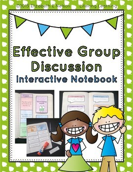 Effective Group Discussion Interactive Notebook