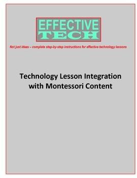 Effective Tech Lesson Integration with Montessori Content