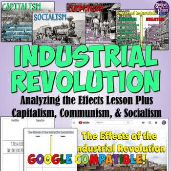 Effects of  the Industrial Revolution & Communism Lesson Plan