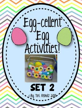 Egg-Cellent Activities! SET 2 {independent early finisher