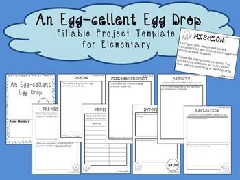 Egg Drop Project Outline