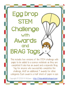 Egg Drop STEM Challenge with Awards