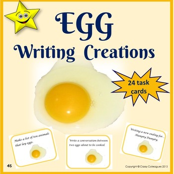 Creative Writing Prompts about Eggs