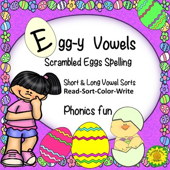 Easter Word Sorts for Short and Long Vowels