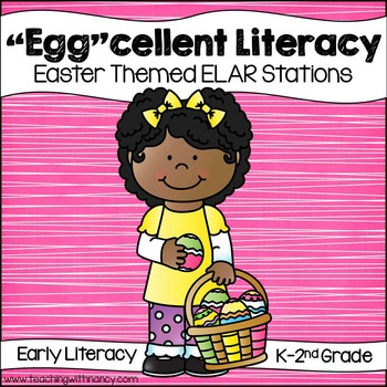 """Egg""cellent Early Literacy Stations"