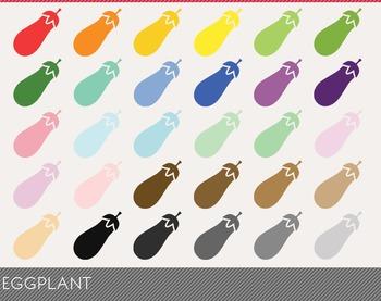 Eggplant Digital Clipart, Eggplant Graphics, Eggplant PNG,