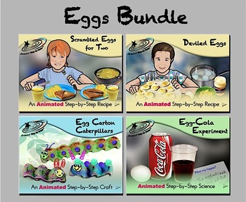 Eggs Bundle - Animated Step-by-Steps