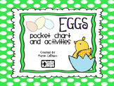 Eggs Pocket Chart and Activities