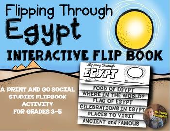 Egypt Flip Book: A Social Studies Interactive Activity for