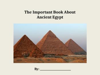 Ancient Egypt Big Book GLAD