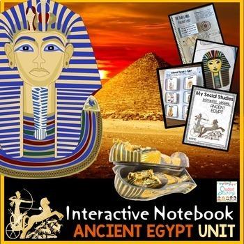 Ancient Egypt Interactive Notebook - Ancient Civilizations