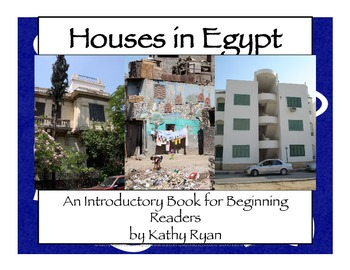 Egyptian Houses a Book for Beginning Readers
