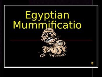 Egyptian Mumification