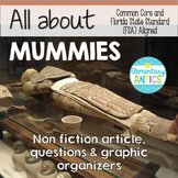 FSA & CCSS Aligned Egyptian Mummies Reading and Language/E
