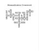 Egyptian Mummification Crossword Puzzle (w/ answer key)