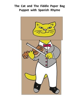 Eh, chin, chin  Paper Bag Puppet (The Cat and the Fiddle S
