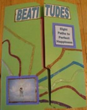 Eight Beatitudes Catholic Lapbook