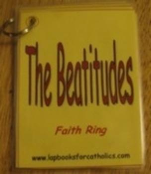 Eight Beatitudes Faith Ring